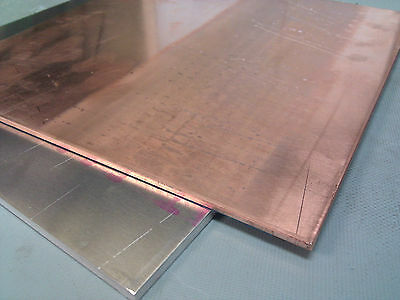 1pcs 99.9% Pure Copper Cu Metal Sheet Plate 2 x 100 x 200 mm #E3-21A