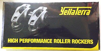 "Yella Terra Roller Rockers Ford Windsor Efi 1.6 Adjust 5/16"" Bolt On - Ytst2047"