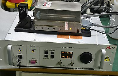 JDS Uniphase M112M Diode Pumped Laser Power Supply / LASER HEAD & CABLE
