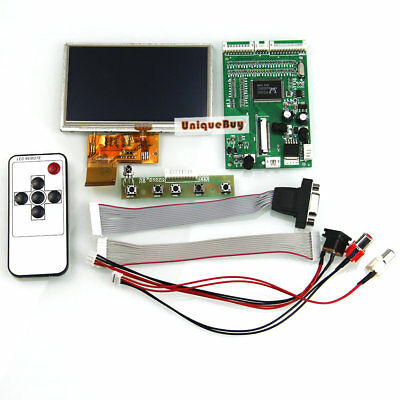 """4 3""""TFT LCD Display Module With Touch Panel + AV*2 / VGA Driving Board  + Remote"""
