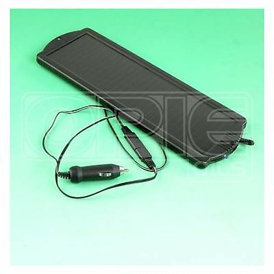 Solar Power Battery Trickle Charger - 12V 1.2W - Car / Van / Motorhome / Caravan