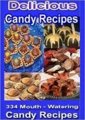 Learn how to make 334 mouth watering candy recipes (eBook-PDF file)