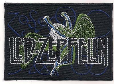 LED ZEPPELIN (British psychedelic hardrock logo patch) 9.3x7 Cm