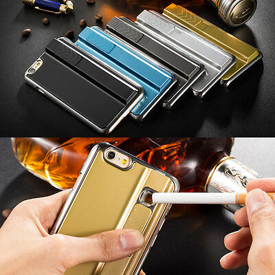 "For Apple iPhone 6 4.7""USB Rechargeable Electronic Cigarette Lighter Case Cover"