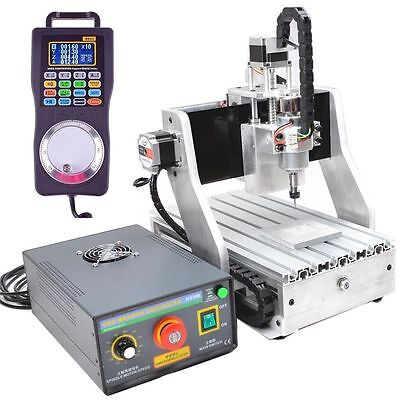 4 Axis CNC3020 ROUTER ENGRAVER DRILLING MILLING MACHINE + Claw Rotational Chuck