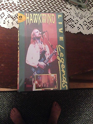 Hawkwind Live Legends Video  Brand New  Still Sealed
