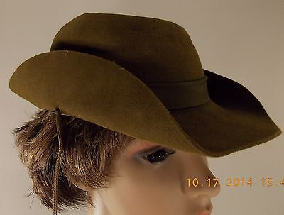 Vtg  30S-40S Stetson Boy Scouts Of America Hat With Tie-Boy Scout Not Master