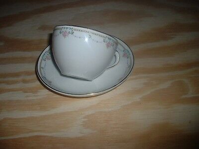 HOMER LAUGHLIN GENESEE SHAPE ( CIRCA 1911 )  CUP AND SAUCER