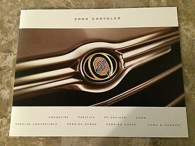 "2004 Chrysler ""Full Line"" 20-page Original Sales Brochure"