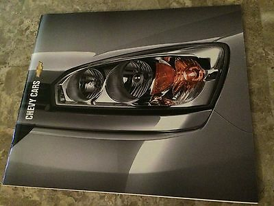 """2004 Chevy Cars """"Full Line"""" 24-page Original Sales Brochure"""