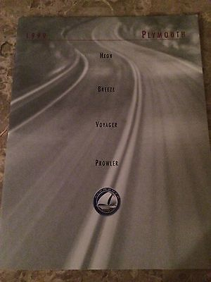 """1999 Plymouth """"Full Line"""" 24-page Original Sales Brochure"""
