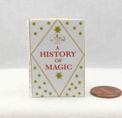 A HISTORY OF MAGIC Magical Textbook 1:6 Scale Readable Barbie Book HARRY POTTER