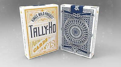 Tally-Ho Embossed Finish Playing Cards Kings Wild Project New