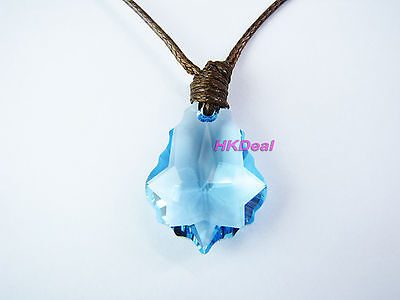 H2O Just Add Water Mermaids Necklace High Quality Crystal Pendant Brown #499