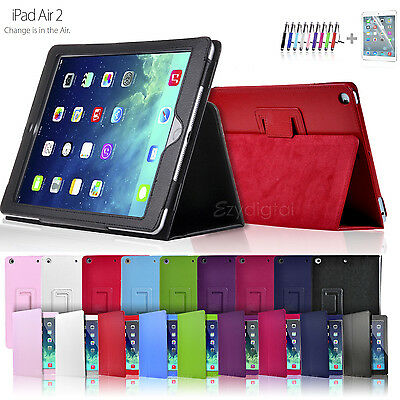 New Smart Flip Leather Case Cover for New iPad Air 2 2nd Gen 6