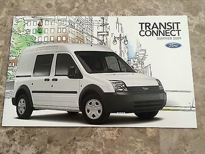 2009 Ford Transit 12-page Original Sales Brochure