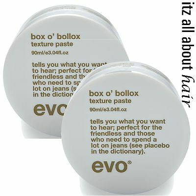 evo ® box o' bollox texture paste duo pack