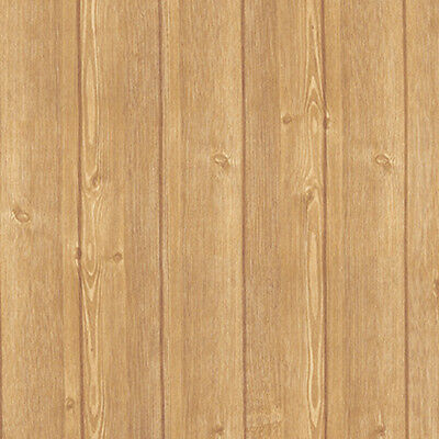 Wood Plank Effect Self Adhesive Wallpaper Roll Vinyl Home Depot Wall Covering