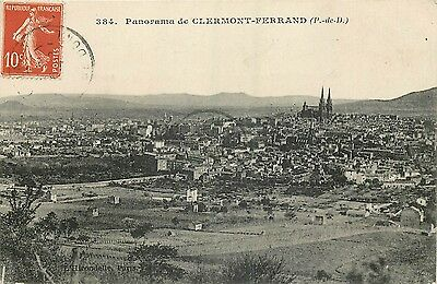 63 Clermont-Ferrand Panorama
