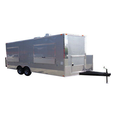 Concession Trailer 8.5'x20' Siler - Vending Catering Food Event