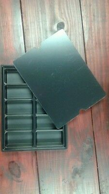 KITTING TRAY 9-7/8x7-9/16x1, 10 CELL 3x1-1/2x1 with Lid