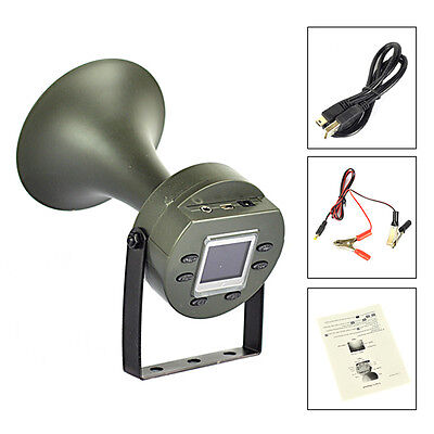 Outdoor Hunting Bird Mp3 Caller Louder Speaker Decoy Built-in 182 Sound 130dB