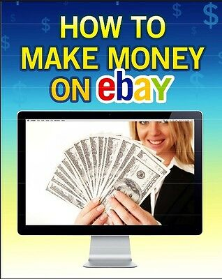 How to make money and earn profit on eBay and learn at home (eBook-PDF file)