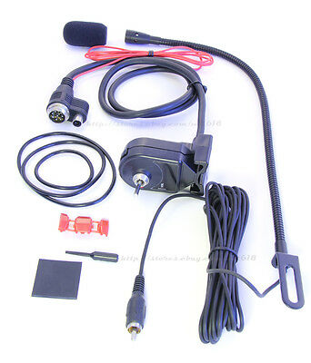 car mobile mic for KENWOOD TM-842 TM-941 TM-942 TM2400 TM261 TM742 TM-D700 TM-V7