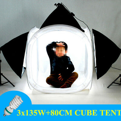 photography Softbox Lighting Cube Tent Soft Box Light Stand Background Backdrop