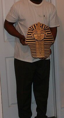 """Alpha Phi Alpha Fraternity - 20"""" (Inch) Carved Sphinx (Painted)"""