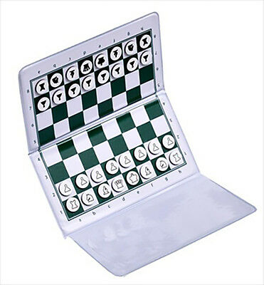 USCF Sales CHECKBOOK MAGNETIC Travel Chess Set