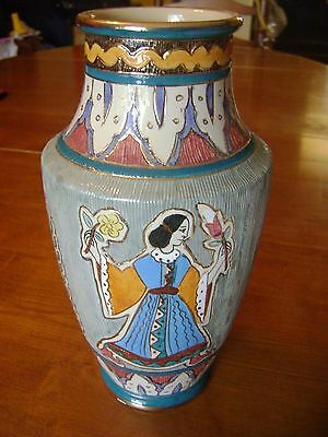 VINTAGE MAJOLICA DERUTA VASE FROM THE 1950s Excellent condition FREE SHIPPING!!!
