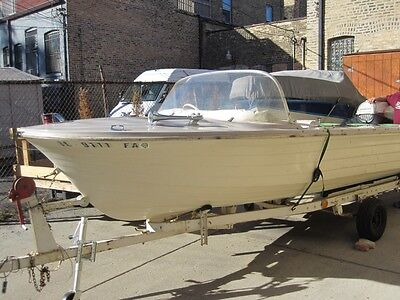 1963 Classic Boat - Starcraft 16ft Boat with Original 40HP Evinrude Outboard
