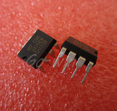 10Pcs Ua741Cn Dip-8 Ua741 Lm741 St Operational Amplifiers Ic