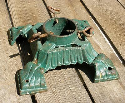 Vintage Antique 1920s German Cast Iron Christmas Tree Stand