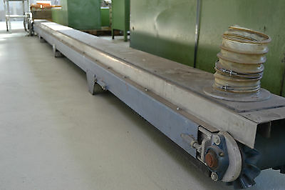 Transitec Förderband Transportband Gurtförderer belt conveyor 705 x 25cm