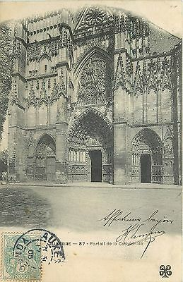 89 Auxerre Cathedrale Portail
