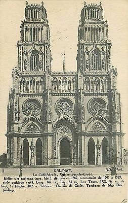 45 Orleans Cathedrale - Nd