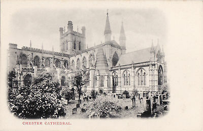 ANGLETERRE chester cathedrale