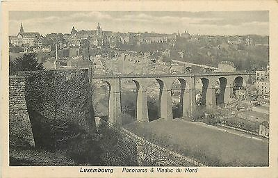 LUXEMBOURG panorama et viaduc