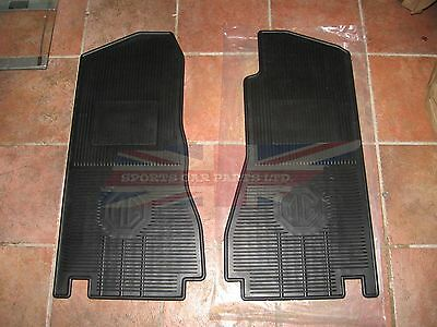 New Set of Amco Style Rubber Floor Mats MGB MGC 1968-1980 Free Shipping