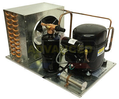 Indoor AE9437Y-1 Condensing Unit 1/2 HP, Med Temp, R134a, 115V. Assembled in USA