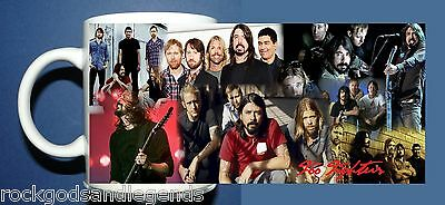 FOO FIGHTERS #2 color collage photo  - Coffee Mug Boxed