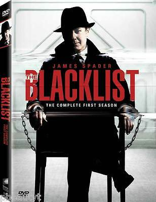The Blacklist: The Complete First Season (DVD, 2014, 5-Disc Set) NEW