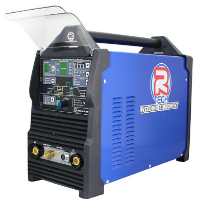 TIG Welder AC/DC Digital R-Tech 210 Amp 240v - Free SSC Foot Pedal Worth £190