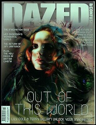 DAZED &CONFUSED 11/2009 LILY COLE Katlin Aas TERRY GILLIAM Carey Mulligan @NEW
