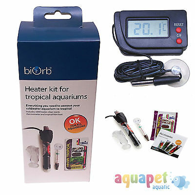 biOrb Heater Kit for Tropical Aquariums with optional Digital Thermometer