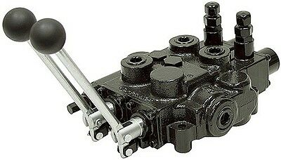Prince Hydraulic Two 2 Spool Valve Auto Cycle RD523MMEE5A1A1 25gpm 3000psi NEW