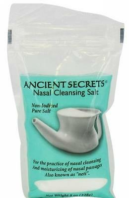 Nasal Cleansing Salt, 8 oz, Ancient Secrets