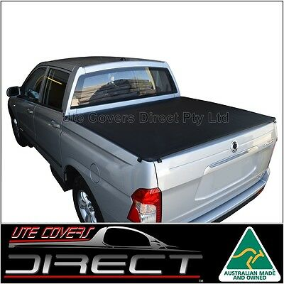 Ssangyong Actyon Sports Ute (May2007-2015) Australian Made ClipOn Tonneau Cover